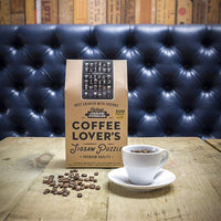 Jigsaw Puzzle 'Coffee Lovers' 500pc Puzzle By Games Room-Jigsaw Puzzle Game-Coffee Bean Comrades