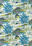 One or Both Sides - ONE Thibaut Honshu Pillow Cover with Self Cording