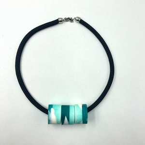 Clara 3 Necklace - Turquoise and  White
