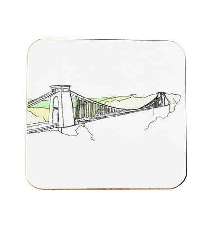 Alice Rolfe Coaster - Clifton Suspension Bridge