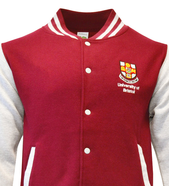 Baseball Jacket - Burgundy