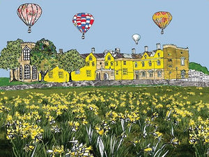 Emmeline Simpson Greetings Card - Ashton Court