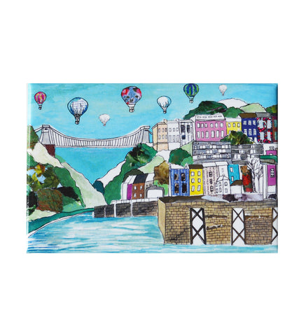 Emmeline Simpson Fridge Magnet - Clifton Balloons