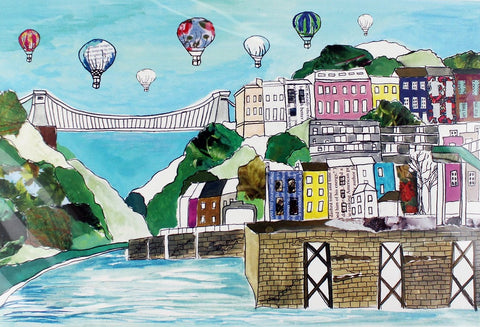 Emmeline Simpson Greetings Card - Clifton Balloons