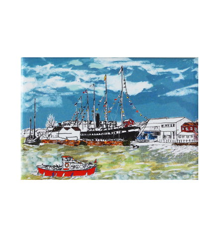 Emmeline Simpson Fridge Magnet - SS Great Britain