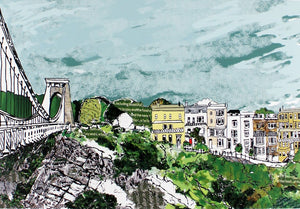 Emmeline Simpson Greetings Card - Sion Hill