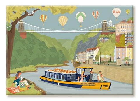 Clare Phillips Fridge Magnet - Avon Gorge