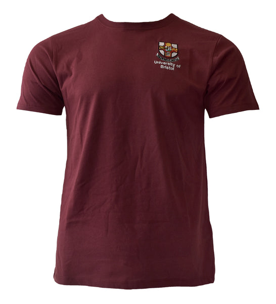 Class of 2021 Crested Graduation T-shirt in Burgundy - LIMITED AVAILABILITY!