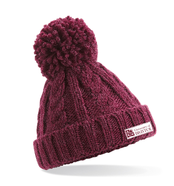 Knitted Hat Burgundy