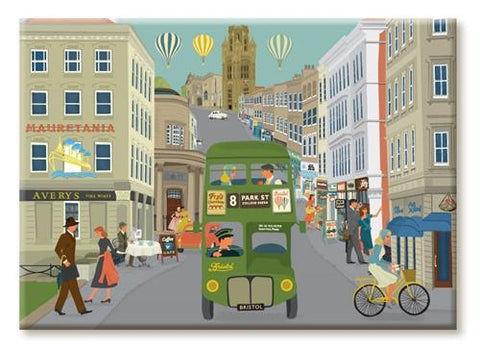 Clare Phillips Fridge Magnet - Park Street
