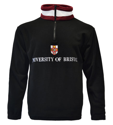1/4 zip University of Bristol Fleece