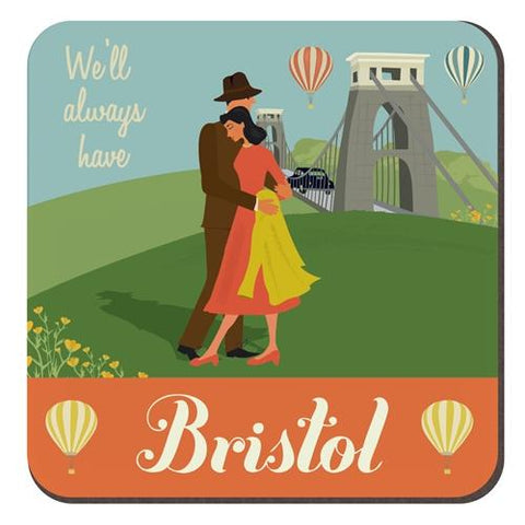 Clare Phillips Coaster - Clifton Suspension Bridge