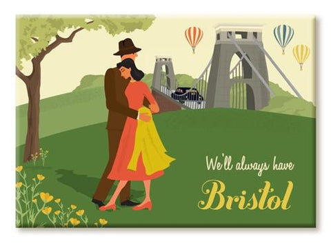 Clare Phillips Fridge Magnet - Clifton Suspension Bridge