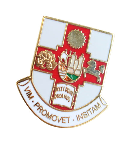 Crested Lapel Badge