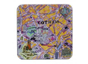 Emmeline Simpson Coaster - Cotham Map
