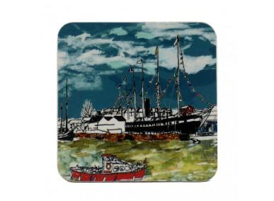 Emmeline Simpson Coaster - SS Great Britain