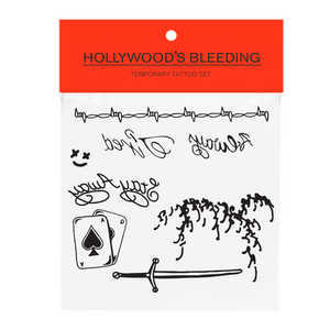 Hollywood's Bleeding Face Tattoo Pack