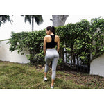Load image into Gallery viewer, Seamless Flex Leggings -Gray - Emoni Fit