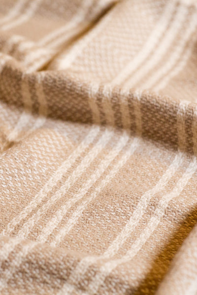 The Seasons Blanket in Beige