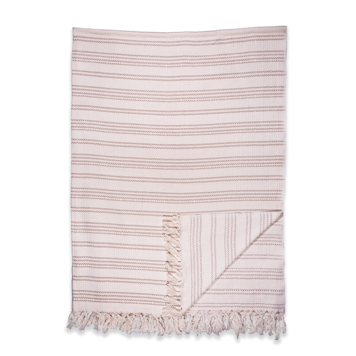The Seasons Blanket in Cream