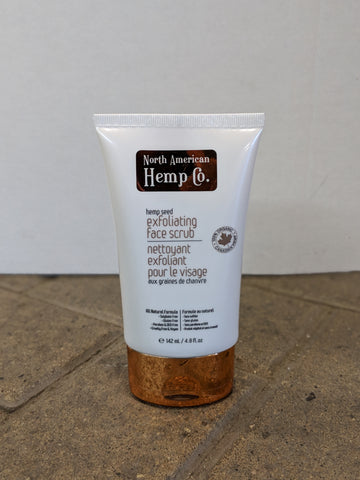 Hemp Seed - Exfoliating Face Scrub - The Hemp Spot