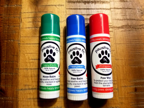 Nose and Paw Balms- 0.5oz Tubes - The Hemp Spot