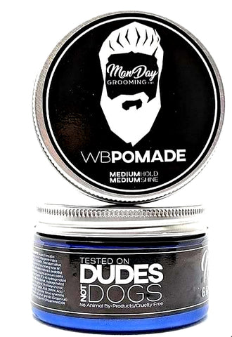 Unorthodox Water-Based Pomade keeps your hair styled and shining all day long while nourishing the hair and scalp with high-quality oils and butters. Canadian Hemp Beauty product.