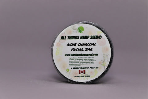 Acne Charcoal Facial Bar - The Hemp Spot