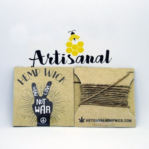 10 feet of  Canadian Hemp Wick?! Why not! These are great if you enjoyed the 3.5 foot wicks. Save your lungs by using these All Natural Canadian Hemp Wick.
