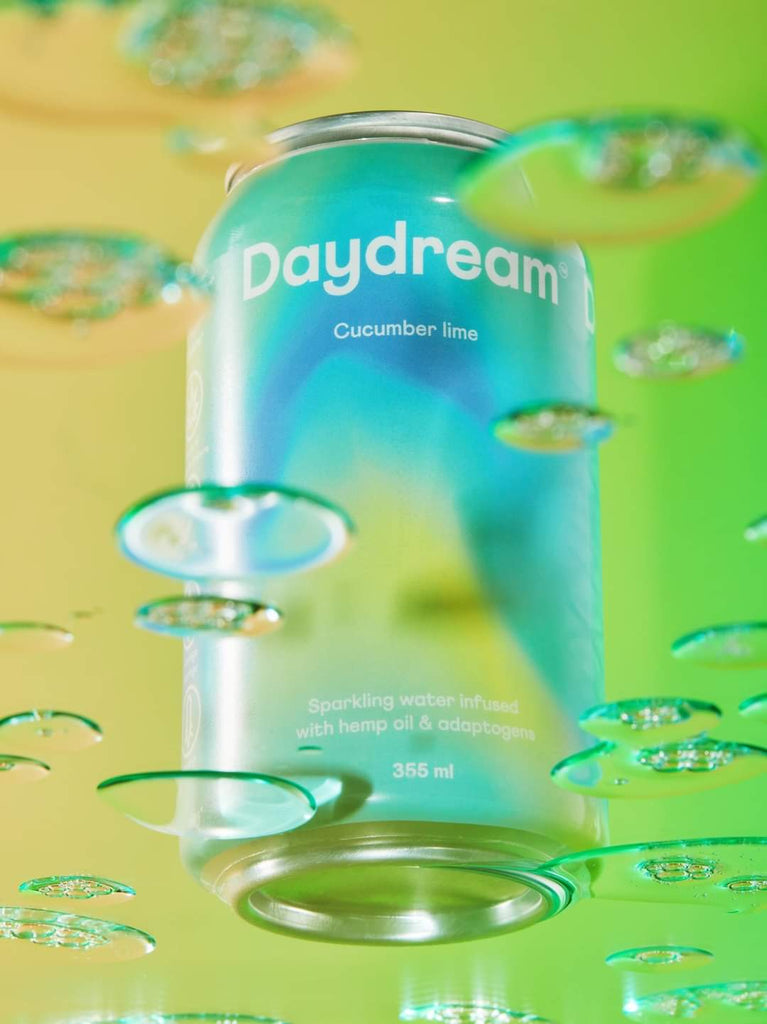 DayDream Sparkling Water infused with Hemp Oil and adaptogens - The Hemp Spot