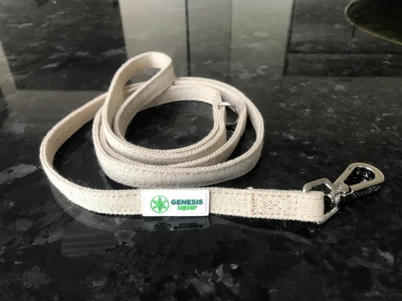 Our hemp dog leashes are soft, durable, and naturally anti-bacterial. Made from 100% organic hemp without any chemical dyes or additives. A great choice for your four-legged friend.