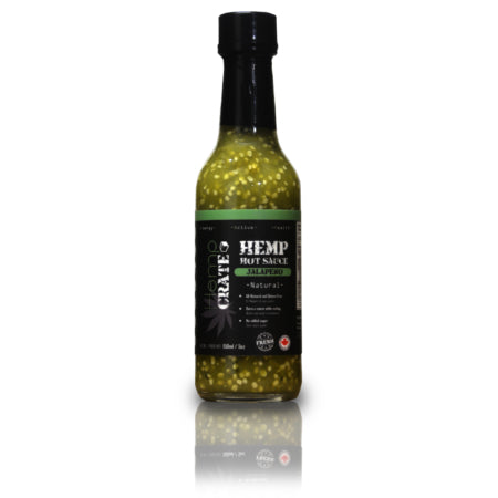 These hot sauces are out of this world! Jalapeno Hemp Hot Sauce