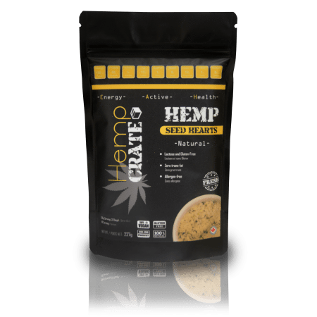Hemp seeds are a natural, whole food product that are easily digestible. They are rich in Protein (all Essential Amino Acids), Fiber, Omega's 3-6-9 (Essential Fatty Acids) and many vitamins and minerals. Canadian Hemp Seed Hearts- 227g