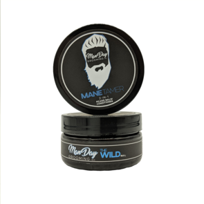 Our Manetamer is Water-based. Water-based = Not greasy or waxy like typical beard balms. It goes in smooth like pomade . Give these Canadian Hemp Beauty Products for men a try!