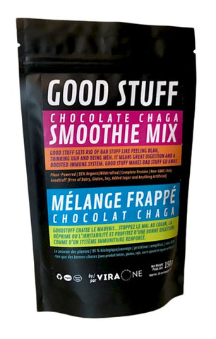 Chocolate Chaga GoodStuff Smoothie Mix - The Hemp Spot
