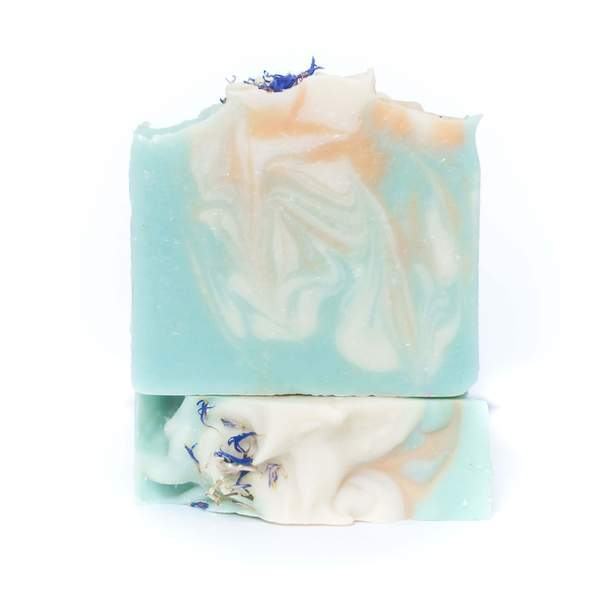 Water Orchid Hemp Soap. Canadian Hemp Beauty Products- This soap is lightly scented with the aroma of sweet citrus, blooming jasmine, and blond woods.