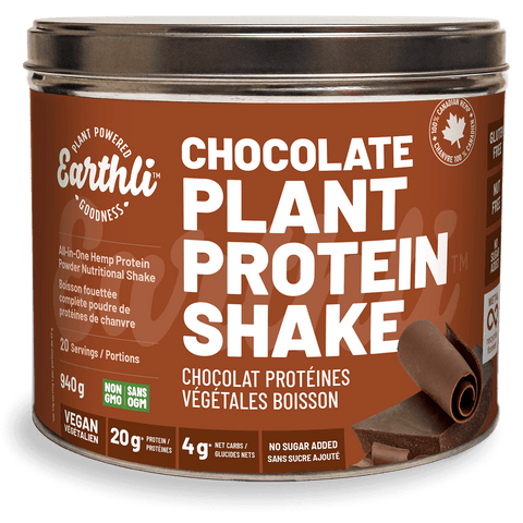 Chocolate Plant Protein Shake - The Hemp Spot