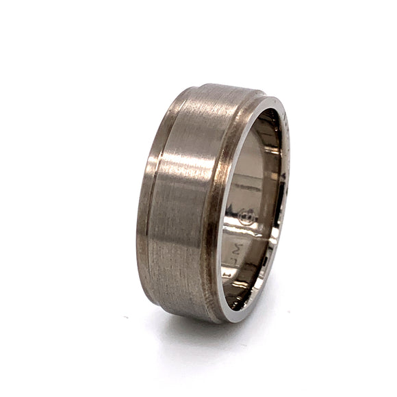 Stepped Titanium Band