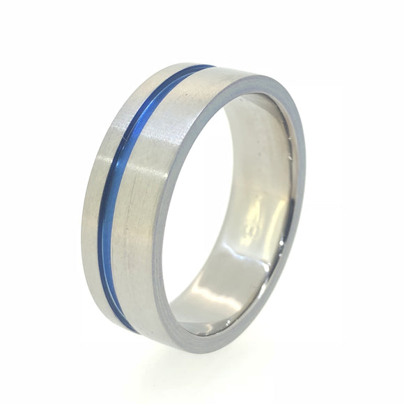 Titanium Band Offset Anodised Channel