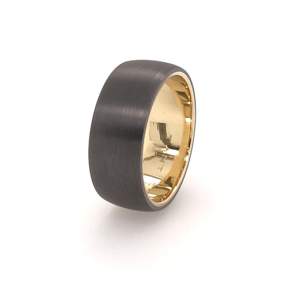 9ct Gold and Tantalum
