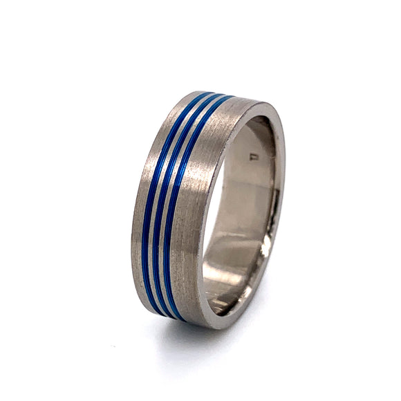 Titanium Anodised Ring