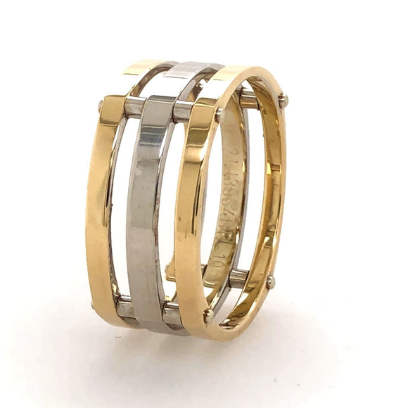 9ct Gold 2 Tone Ring