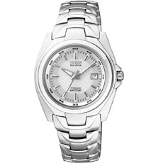 Citizen Ladies Mid Sized Eco-Drive Titanium 100M