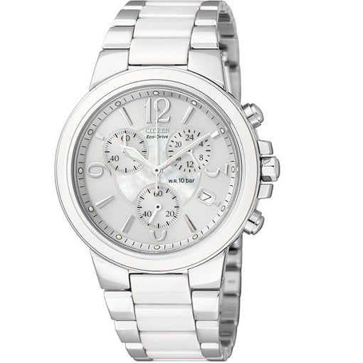 Citizen Ladies Eco-Drive 100M Sapphire Crystal Ceramic