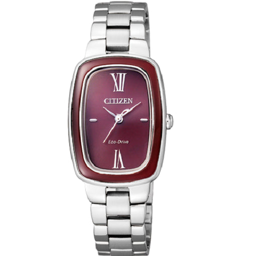 Citizen Ladies Eco-Drive 50M W/R Red