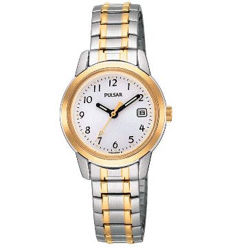Pulsar Ladies Stretch Band Water Resistant