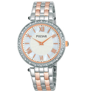 Pulsar Ladies Dress Rose Gold Plated Water Resistant