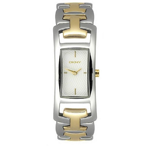DKNY Stainless Steel Gold Plated W/R