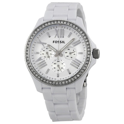 Fossil White 50m W/R