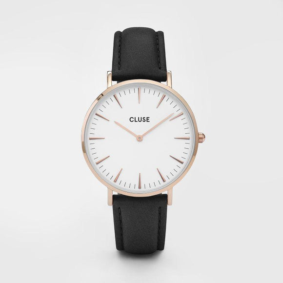 Cluse La Boheme Rose Gold White Black
